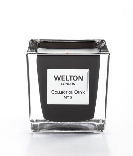 WELTON LONDON ウェルトンロンドン ONYX COLLECTION フレグランスキャンドル 150g NO.3