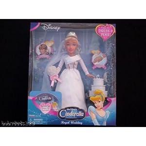 Playmates Disney Princess World of Cinderella Royal Wedding Doll