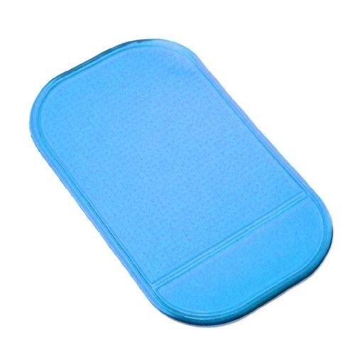 Farbige-Matte-Anti-Rutsch-Pad-DashPad-Haftmatte-zur-Ablage-von-Schlssel-Handy-etc-in-Blau