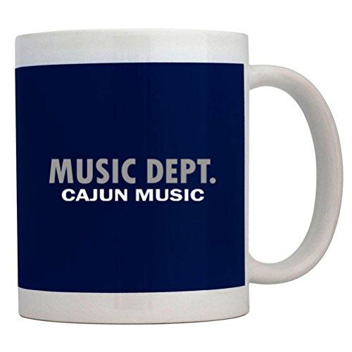 Teeburon Music Dept Cajun Music Mug