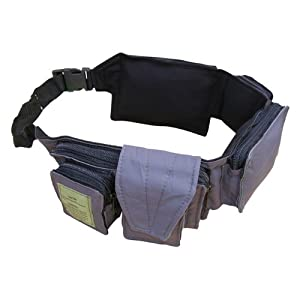 Zip Zap Zooom Army Combat Utility Travel Money Belt Waist Bum Bag