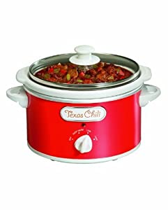 Proctor Silex Portable Oval Slow Cooker 1.5-Quart - Color: Red