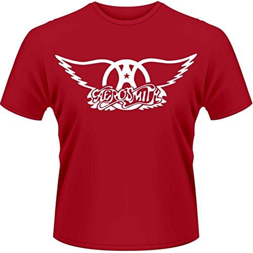 Plastic Head Aerosmith Logo-T-shirt  Uomo    rosso Small