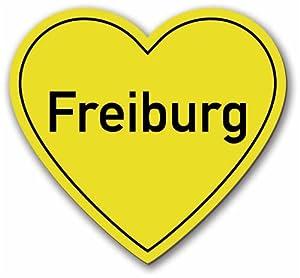 """myMagnet Kühlschrankmagnet - """"Stadtherz Freiburg"""""""