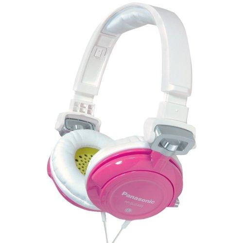 Panasonic Rp-Djs400-Z Djs400 Dj Street-Style Headphones (Pink) (Rp-Djs400-Z)