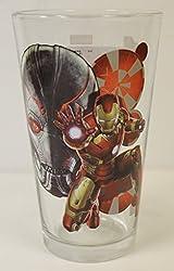 Avengers: Age of Ultron- Iron Man 16 Oz. Pint Glass Marvel Comics