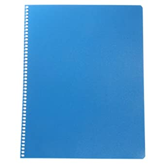 "Contec 7166-1 Context Spiral Bound Cleanroom Notebook, Durable Plastic Cover, 11"" Length x 8.5"" Width (Case of 10)"
