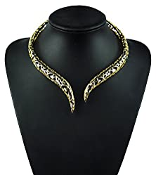 buy Superhai Personalized Heart Shaped Retro Domineering Personality Hollow Collars