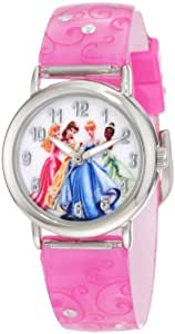 Disney Kids' PRS065B Princess gift back pack set Watch