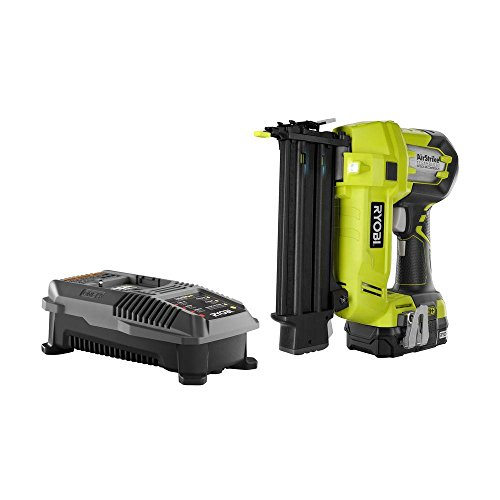 Learn More About Ryobi P854 ONE Plus 18V Cordless Lithium-Ion 2 in. Brad Nailer Kit (One Battery & C...