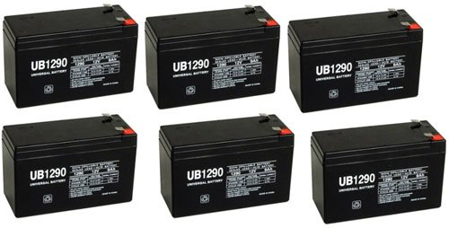 Schwinn S500 12V 9Ah Upg Sla Battery - 6 Pack