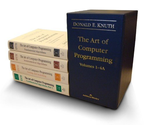 The Art of Computer Programming (출처: Amazon)