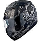 Scorpion EXO-500 Skull Helmet - Large/Matte Black