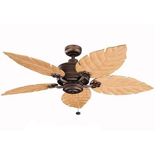 Kichler Lighting 320102WCP 52-Inch Crystal Bay Ceiling Fan
