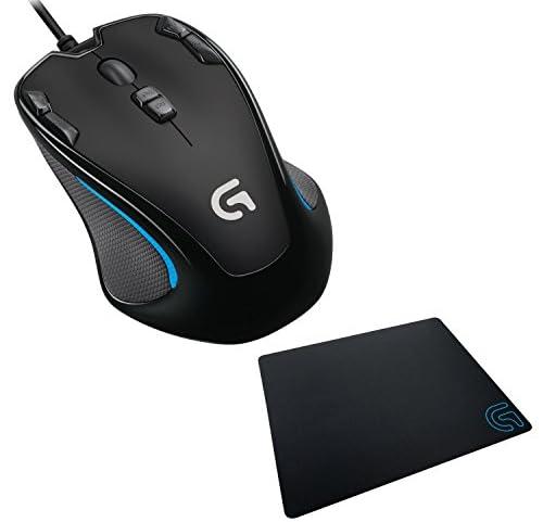 【数量限定】 Logicool ロジクール オプティカル ゲーミングマウス G300s (ゲーミングマウスパッドG240セット)