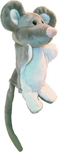 Au Sycomore PEL60060 - Marioneta de ratón de peluche, 23 cm