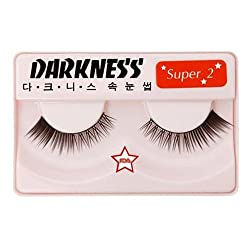 Darkness False Eyelashes Super 2
