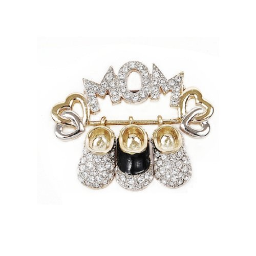 Fashion Trendy Brooch Gold #002746