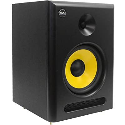 Seismic Audio Spectra-8P Active 2-Way 8-Inch Studio Reference Monitor - 95W RMS from Seismic Audio Speakers, Inc.