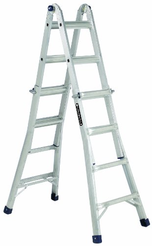 Louisville Ladder L-2094-22 Type IA 300-Pound Rated Aluminum Multipurpose 22-Foot Ladder