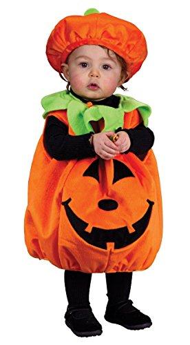 Image - Fun World – Soft and Comfy Pumpkin Infant Costume