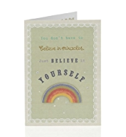 Rainbow Encouragement Card