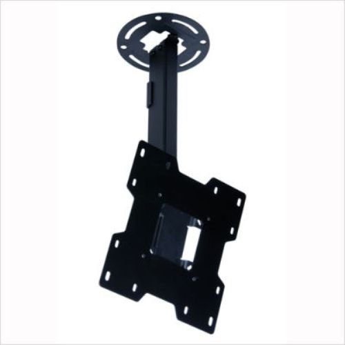 "Peerless PC932A Adjustable Tilt Ceiling Mount for 15"" to 37"" Displays with 9.8"" to 13.8"" Extension (Black)"
