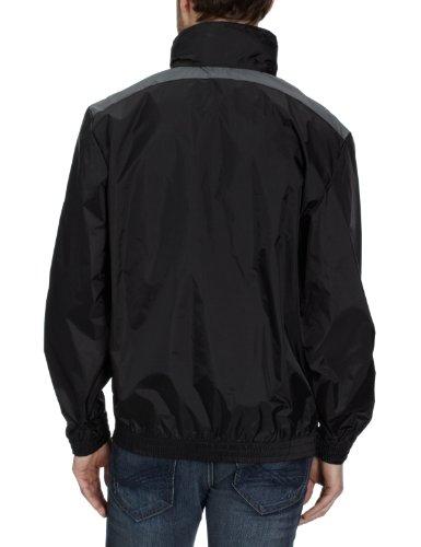 PUMA Herren Jacke Rain Jacket, Black-Dark Shadow, M, 652854 03 -