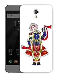 """Tirupati Balaji GodPrinted Designer Mobile Back Cover For """"Lenovo Zuk Z1"""" (3D, Matte, Premium Quality Snap On Case)"""