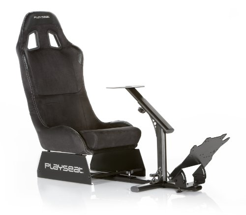 Playseat EvolutionM Alcantara Gaming Seat, Black Picture