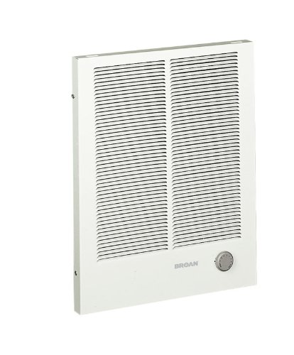 Broan Model 198 Wall Heater, 2000/4000 Watt 240 VAC, White Painted Grille