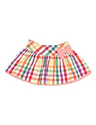 Y/D Skirt With Side Bow. 7-8 Years