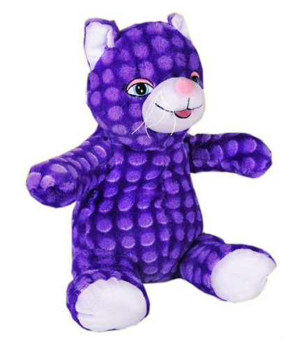 Recordable Plush Purple Kitty Cat With 10 Second Digital Voice