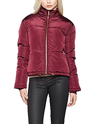New Look Chaqueta Chapel Short Padded Puffer (Rot (Dark Burgundy))