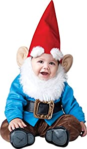 InCharacter Baby Boy's Garden Knome, Red/Blue, Medium