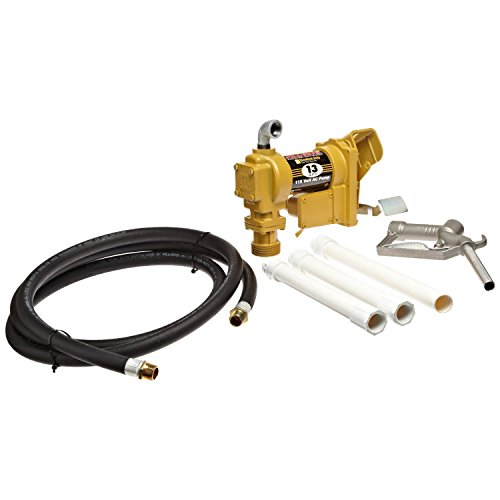 Fill-Rite-Fuel-SD602G-Fluid-Transfer-Pump-Adjustable-Suction-Pipe-10-Delivery-Hose-Manual-Release-Nozzle-115-Volt-13-GPM
