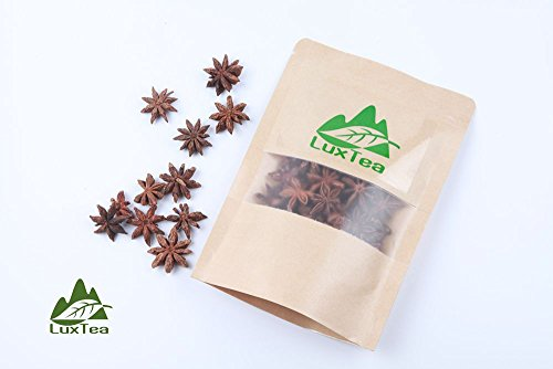 Luxtea Chinese Fennel Spices, Seasoning, Cook, Love, Help You Make Delicious Food (Star Anise, Bajiao,100g) (Star Anise Foods compare prices)