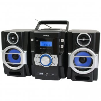 Naxa Npb429 Portable Cd/Mp3 Player With Pll Fm Radio Detacha