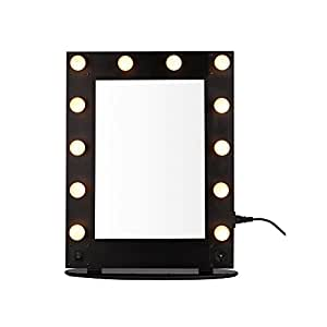com unho hollywood vanity lighted mirror professional makeup mirror. Black Bedroom Furniture Sets. Home Design Ideas
