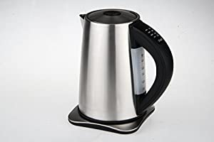 Aicok 1.7-liter Variable Temperature Electric Kettle Stainless Steel Cordless Water Kettle by Aicok
