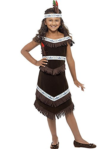 Native American Indian Girl Kids Costume
