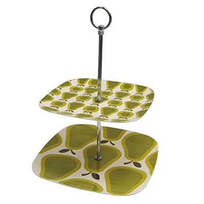 Orla Kiely Melamine 2-Tier Tray : Target from target.com