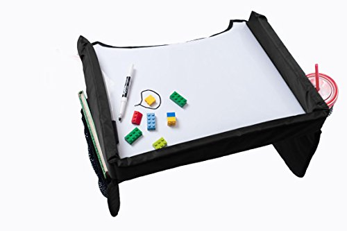 Star Kids Snack & Play Travel Tray 2.0, Black (Tray Table For Car Seat compare prices)
