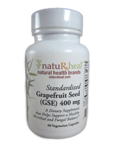 Grapefruit Seed (Gse) 400 Mg Standardized (60) Vegetarian Capsules
