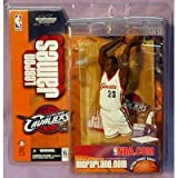 Mcfarlane Lebron James NBA 7 Inch Sports Picks 1st Edition Rookie Figure
