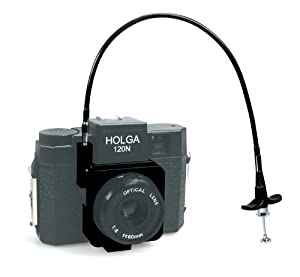 Holga Shutter Release Set with Cable Release and Mount