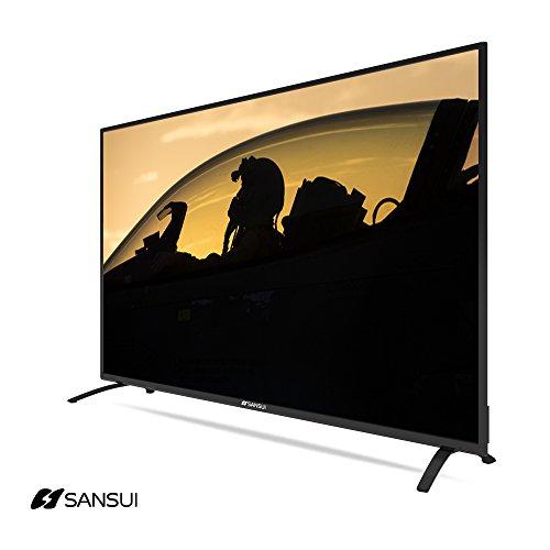 sansui sled6516 65 inch 2160p 4k ultra hd uhd led lcd hd slim tvs 120hz flat screen monitor tv. Black Bedroom Furniture Sets. Home Design Ideas