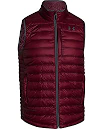 Under Armour Men\'s Coldgear Infrared Turing Insulated Vest Burgundy Large