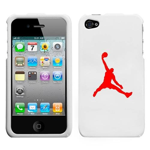 white iphone 4 case with apple logo. APPLE IPHONE 4 4G RED AIR