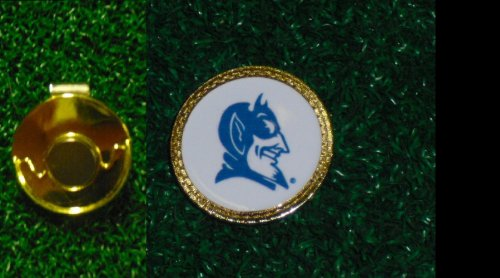 Gatormade Golf Ball Marker & Hat Clip Duke Blue Devils
